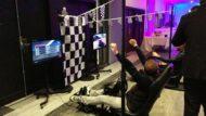 animation simulateur de course