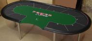 personnalisation de tapis de poker
