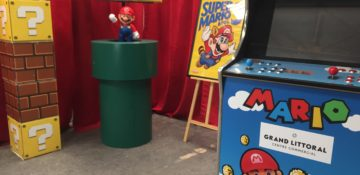 location de décoration super mario