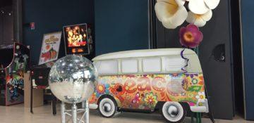 décor hippie pour événement