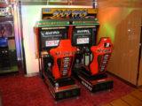animation jeu d'arcade de course pour tournoi