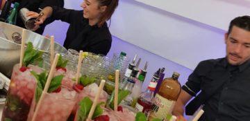 Barman jongleur